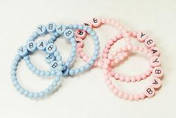 1 25 plastic bracelet baby shower cupcake