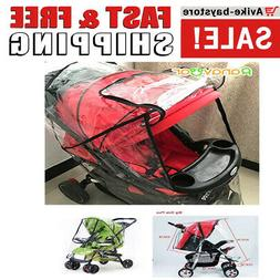 1 Baby Stroller Plastic COVER For Winter Rain and Wind Shiel