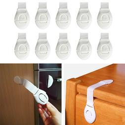 10 Pcs/Lot Plastic Child Lock Children Protection Baby Safet