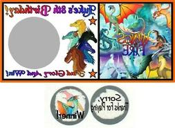 10 Wings Of Fire Dragons Birthday Party Baby Shower Scratch