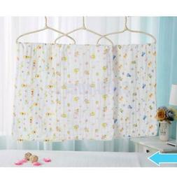 100% Cotton Square Baby Gauze Bath Wash cloths burpy bibs To