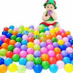 1000 pcs Baby Kid Pit Toy Game Swim Pool Soft Plastic Ocean