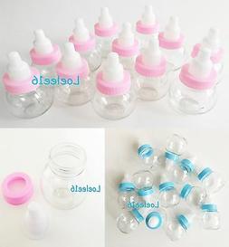 12 fillable bottle baby shower favors decoration