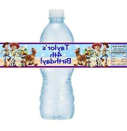 12 Toy Story Birthday Party Baby Shower Water Bottle Sticker