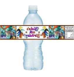 12 Wings Of Fire Birthday Party Baby Shower Water Bottle Lab