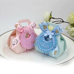 12Pcs Baby Shower Boy Girl Apron Party Favour Birthday Decor