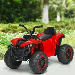 12V Kids 4-Wheeler Quad ATV Battery Powered Operated Ride On