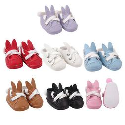 14.5inch Baby Doll Rabbit Shoes Flats for American Doll Clot
