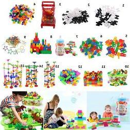 15 Options Plastic Building Blocks Splicing Bricks Kids Baby