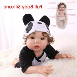 "16"" Realistic Reborn Baby Doll Full Body Silicone Anatomical"