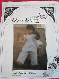 """SEW ADORABLE 18"""" Doll Clothes FIT AMERICAN GIRL Martial Arts"""
