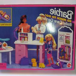 1995 NEW NIB Barbie BABY CARE CENTER So Much To Do Hospital