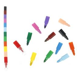 1pc 12 colors baby drawing crayons colorful oil paint pen ki