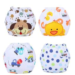 Baby Girl Boy Pee Potty Training Pants Washable Cloth Diaper