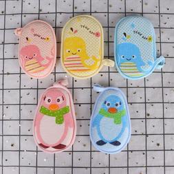 1PC soft baby bath sponge newbron infant shower product rub