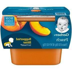 Gerber 1st Foods Baby Food Peach