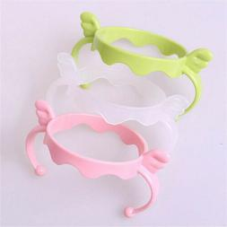 1x Plastic Baby Cup Standard Handle Holder Trainer Easy Grip
