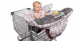 2-in-1 Baby Shopping Cart Cover and High Chair Protector - G