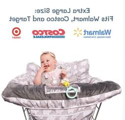 2-in-1 Baby Shopping Cart And High Chair Cover- Germ Protect