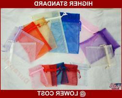 "20~ 5x7"" Organza Fabric Bag Party Wedding Favor Baby Shower"