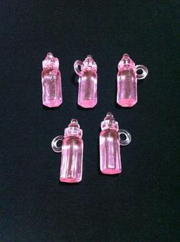 20 Plastic Baby Shower Party Favors/Mini Baby Bottles/Feedin