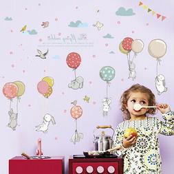 2019 DIY Style Rabbit Lovely Wall Sticker Decal For Nursery