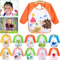 2019 Newborn Baby Boy Girl Cartoon Bibs Waterproof Saliva Fe