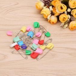 20Pcs Colorful Baby Infant Child Cloth Nappy Diaper Pins Saf