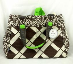 265 NEW BELLA TUNNO basics baby bag carry all diaper bag NWT