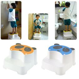 2pcs Baby Double Step Stool The Winking Panda for Kids Anti-