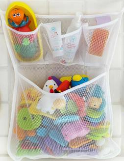 2Pcs Children Toddler Shower Toys Clothes Storage Bath Wall