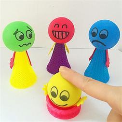 2Pcs Jump Doll Bounce Elf Fly Kids Children Baby Creative Ed