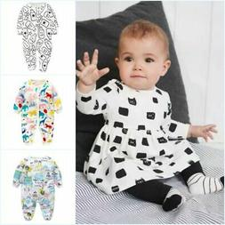 2pcs Newborn Toddler Baby Boy Girl Clothes T-shirt Tops+Pant
