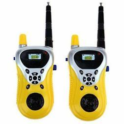 2Pcs Walkie Talkie Kids Electronic Toys Portable Two-Way Rad