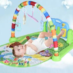 3 in 1 Baby Gym Floor Play Mat Blanket Pedal Piano Musical K