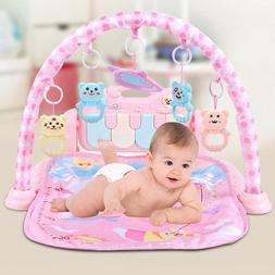 3in1 Baby Gym Floor Play Mat Musical Activity Center Kick An