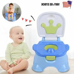 3-in-1 Detachable Toddler Toilet Chair Kids Potty Training S