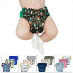 3-Pack Hybrid Cloth Swim Diaper Potty Training Pants, Newbor