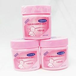 3 x petroleum jelly gel skin protective baby body nursery dr