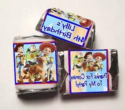 30 Toy Story Birthday Party Hershey Nugget Labels Sticker Bu