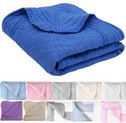 "36"" x 48"" All Weather Baby Blanket Comforter Cotton Quilt Nu"