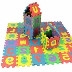 36pcs/set Alphabet & Numerals Baby Kids Play Mat Educational