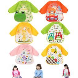 3pcs Baby Bibs Apron Waterproof Eva Kids Feeding Burp Cloths