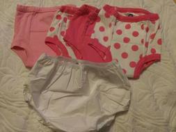 4 girls potty training pants and 1 Gerber plastic pant NWOP