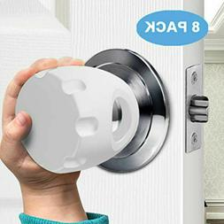 8-Pack Baby Safety Door Knob Covers DoorKnob Locks Child Chi