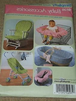 Simplicity 4636 Baby Accessories Stroller Rocker Car Seat Co
