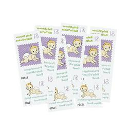 48 Baby Shower Raffle Tickets PARTY Game RAISE MONEY FOR DIA