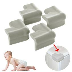 4PC Baby Proofing Table Corner Bumpers Soft Foam Protector F