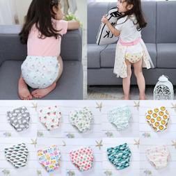 4Pcs Washable Diaper Learning Pants Baby Training Pant Water