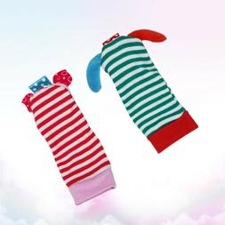 4Pcs Wrist Bell Toys Delicate Durable Cotton Bell Socks for